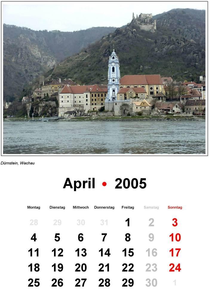 2005 kalender 2005 Holidays